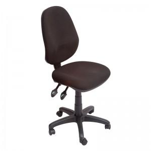 Avon High Back Chair Black Fabric