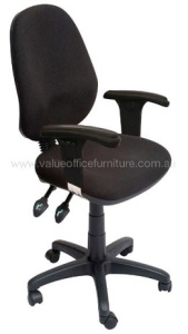 high back office chair with arms