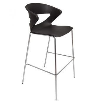 Buchan Bar Stool, Black