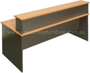 Rapidline Beech Reception Desk