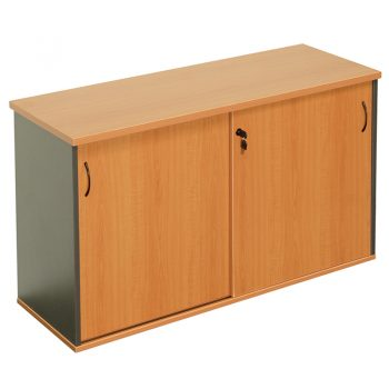 Corporate Sliding Door Credenza