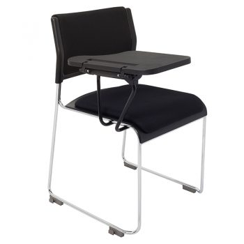 Piper Chair with Seat and Back Pad and Tablet Arm