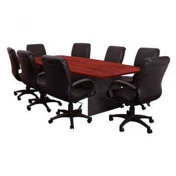 Principal Executive Meeting Table & Swan Chair Package