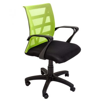Sandon Chair, Green Mesh Back