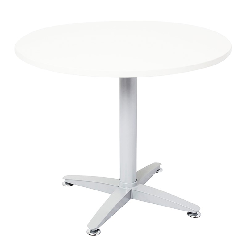 Smart round meeting table value office furniture for Off white round table
