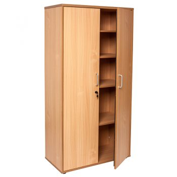Smart Storage Cupboard, Beech