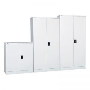 Super Heavy Duty Metal Storage Cupboards, Silver Grey