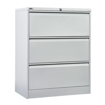 Super Heavy Duty Lateral Three Drawer Metal Filing Cabinet