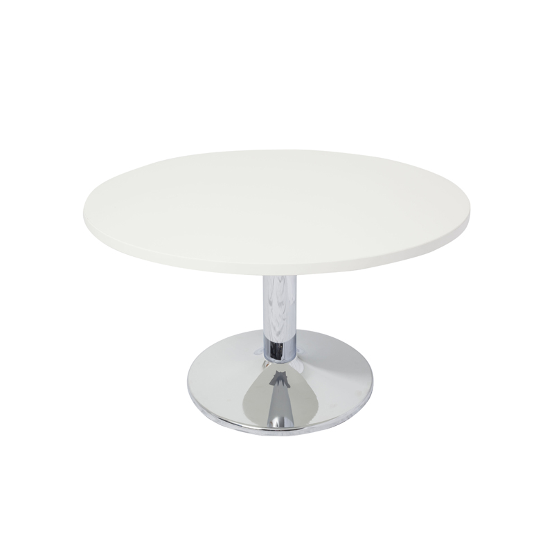 Vogue round coffee table value office furniture for Off white round table