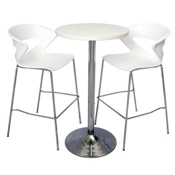 Vogue Office High Table and Buchan Bar Stool