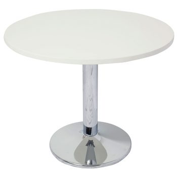 Vogue Meeting Table, Off-White Top