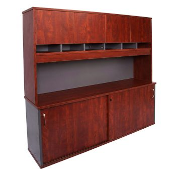 Principal Executive Credenza and Hutch Package