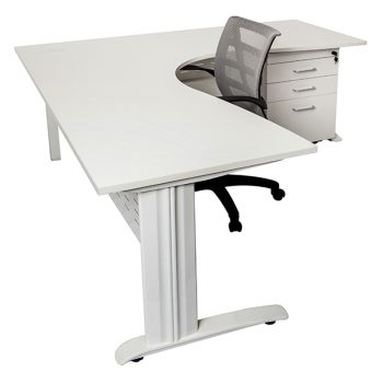 Smart Corner Workstation, Drawer Unit and Sandon Chair Package