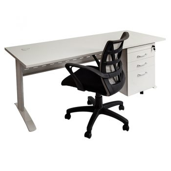 Smart Desk, Drawer Unit and Sandon Chair Package