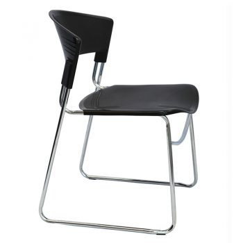 Tara Visitor Chair - Black