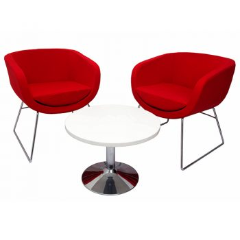 Bianca Chair and Vogue Coffee Table Package