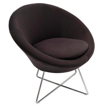 Jamie Visitor Chair - Charcoal Fabric