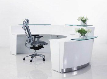 Exceed Three Piece Reception Desk, Inside