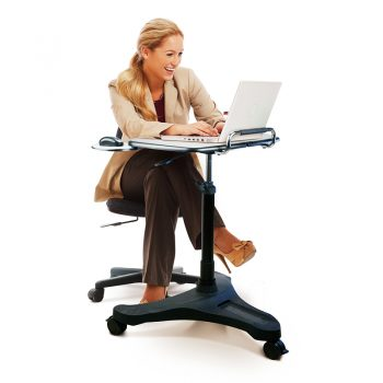Stand Series 2 Height Adjustable Personal Desk. Low
