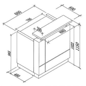 Una Compact CAD Drawing