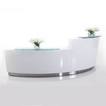 Exceed Two Piece Reception Desk