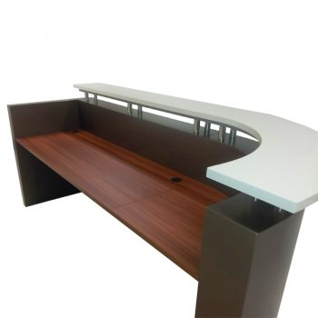 Monarch Reception Desk, Inside
