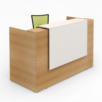 Rosalie Beech Reception Desk