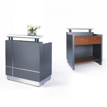 Una Compact Reception Desk