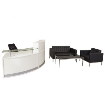 Evolve Small Reception Desk package