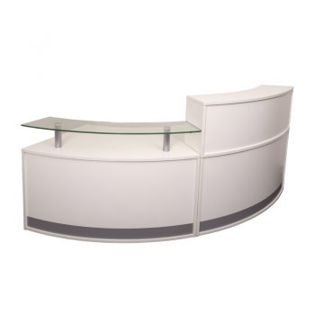 evolve small reception desk