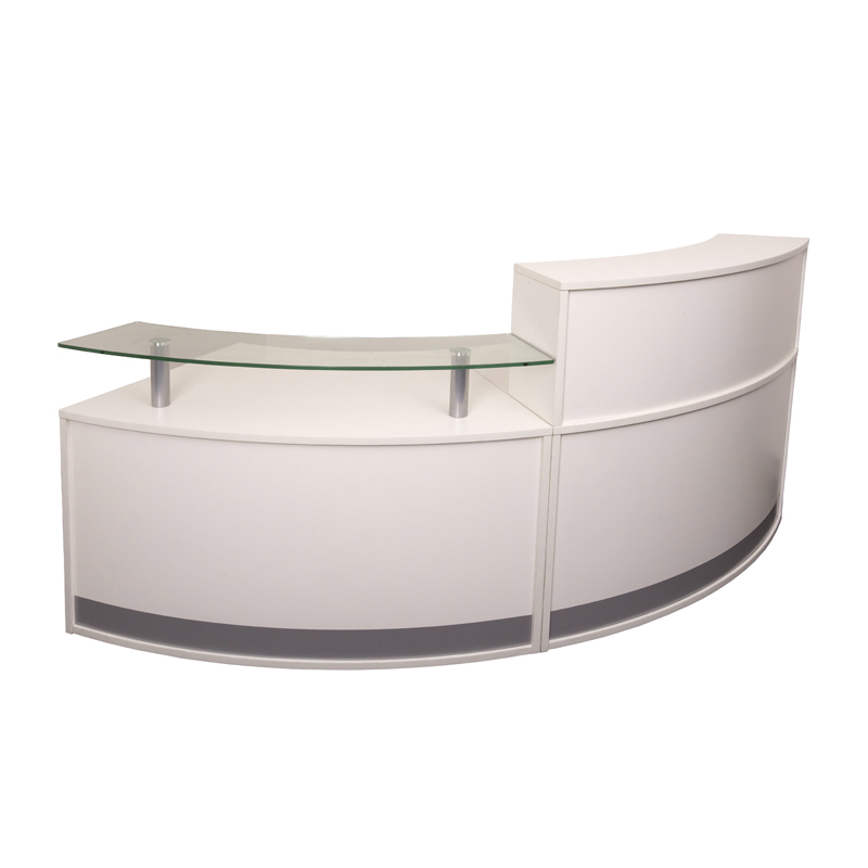 Evolve Small Reception Desk  2 Sections  Value Office. Restaurant Table. White Wide Chest Of Drawers. Architects Table. Microwave With Pizza Drawer. Small Pool Tables. 32 Round Table. Waterbed Base With Drawers. Apg Vasario 1416 Cash Drawer
