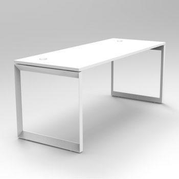 Modular Loop Leg Desk, 1 Person, 2