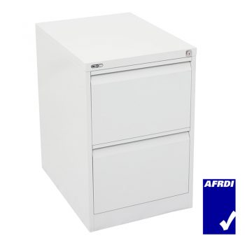 GO 2 drawer filing cabinet