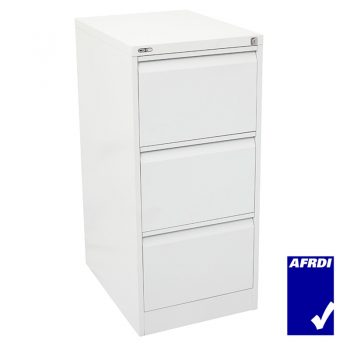 GO 3 Drawer Filing Cabinet