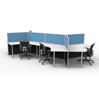 Six Desk Pod
