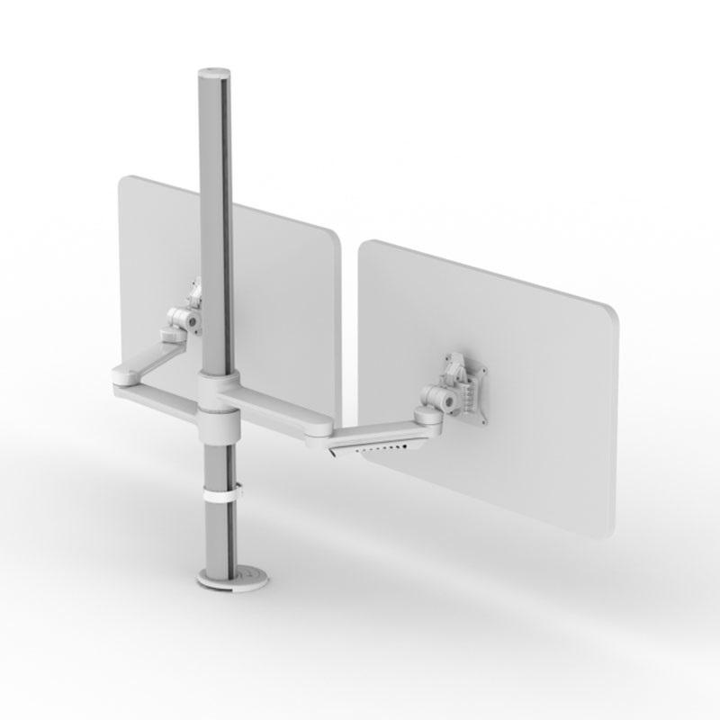 Dual Horizontal Ergonomic Monitor Arm