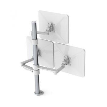 Triple Ergonomic Monitor Arm