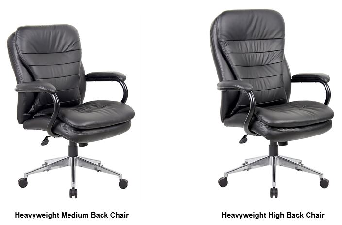 weight rating 200kg heavyweight high back chair office