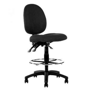 Metro High Back Drafting Chair