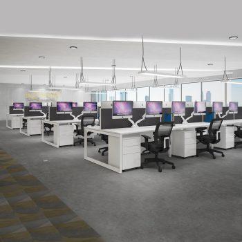 Modular Desk Fitout