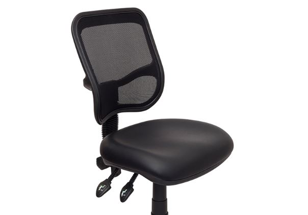 surrey mesh back drafting chair with fabric or vinyl seat value