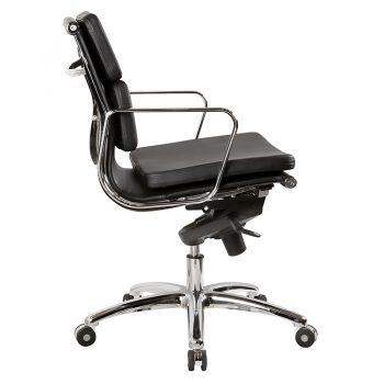 Toorak Low Back Chair, Side View