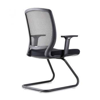 Veee Visitor Chair, Rear Angle