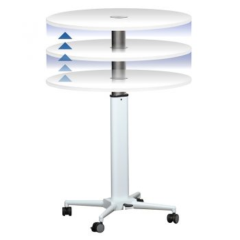 Elevate Mobile Height Adjustable Table