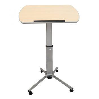 Height Adjustable Mobile Lectern or Desk, High