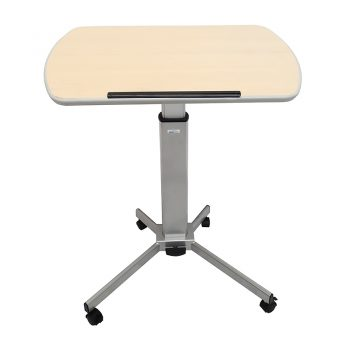 Height Adjustable Mobile Lectern or Desk, Low