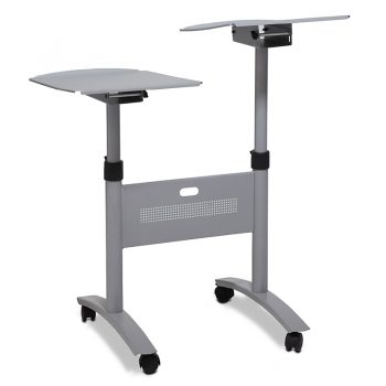 Mobile Twin Height Adjustable Stand
