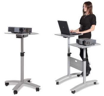 Height Adjustable Mobile Stands