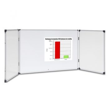 Magnetic Double Sided White Board