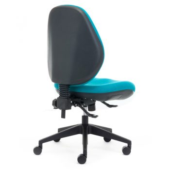 Samson Extra Heavy Duty High Back Ergonomic Office Chair, Rear View